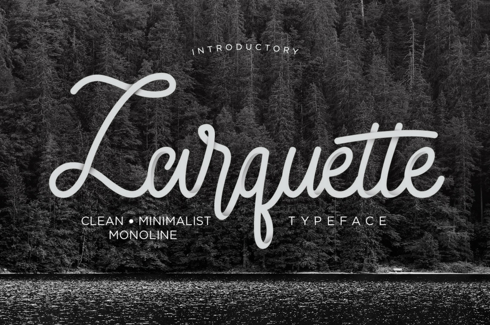 September 2017: free fonts of the month simple video making