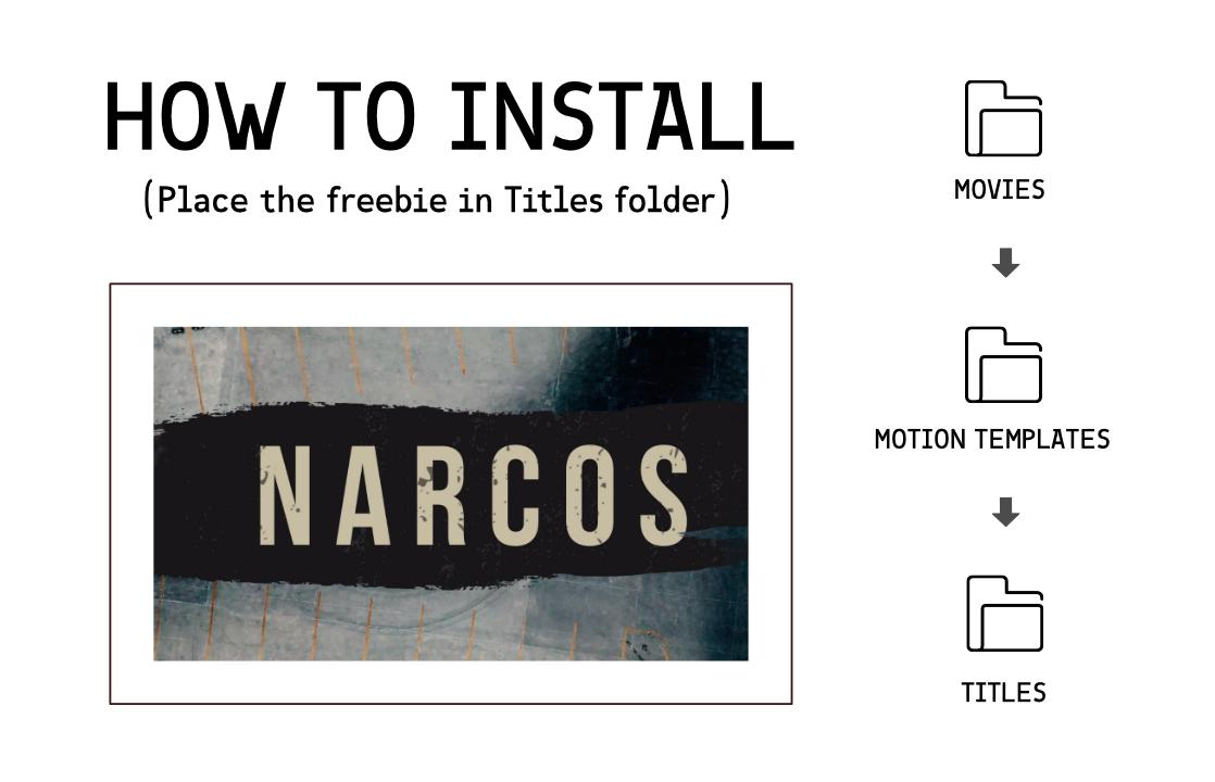 Narcos Free Titles - Simple Video Making